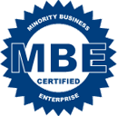 MBE Minority Business Enterprise Certified Logo
