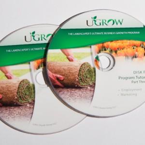 UGrow Disk Label Printing