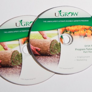 UGrow Disk Label Printing