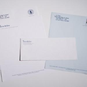 Benedictine Letterhead Printing