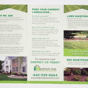 Bottom Line Brochure Printing