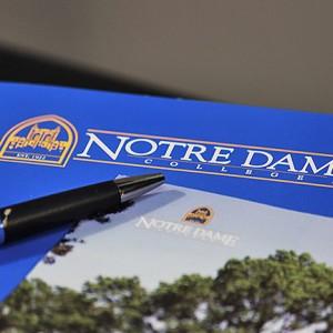 Notre Dame College Brocure Printing