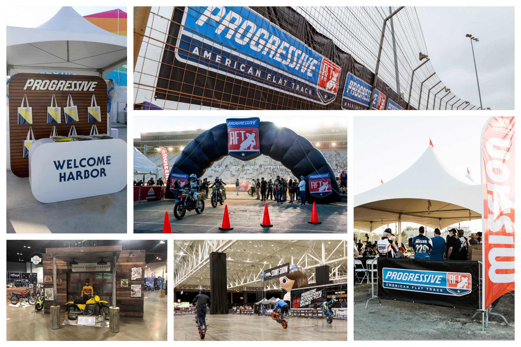 Various client examples of experiential design work