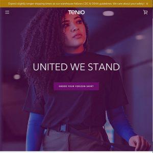 Ten10 Verizon shopify webpage screenshot